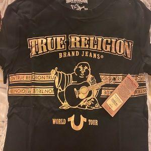 NWT True Religion Buddha Shirt 👕 BOYS Size L